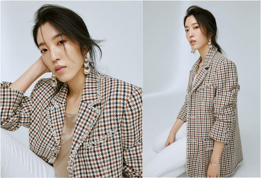 ▲ 水晶鑲邊毛料西裝外套,售價NTD 71,200。