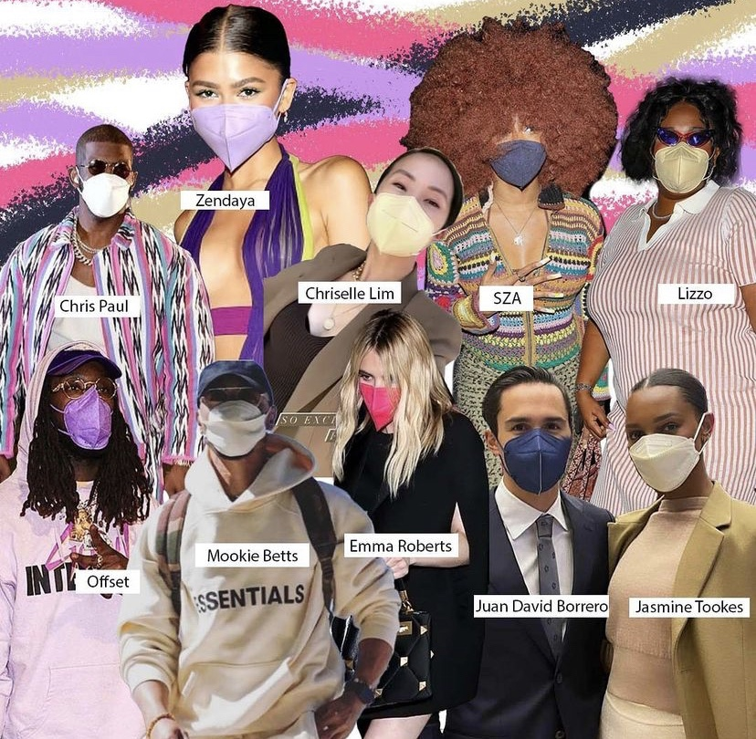 備受好萊塢明星與各界時尚名人寵愛,Chris Paul、Zendaya、Chriselle Lim、SZA、Lizzo、Offset、Mookie Betts、Emma Roberts、Juan David Borrero、Jasmine Tookes 配戴 KAZE Original 系列。(圖片:DorazioPR Instagram)